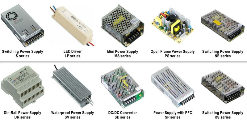 Power supplies distributor